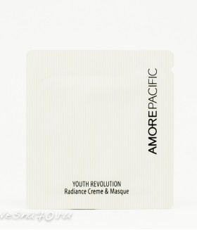 AMORE PACIFIC Youth Revolution Radiance Creme & Masque 1мл