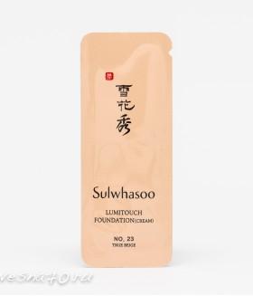 Sulwhasoo Lumitouch Foundation (Cream)True Beige 1мл