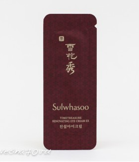 Sulwhasoo Timetreasure Renovating Eye Сream 1мл