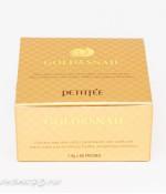 Petitfee Gold & Snail гидрогелевые патчи с золотом и муцином улитки 60штук