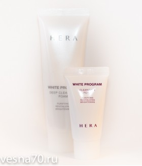 HERA White Program Cleansing Foam 15мл\30мл\50мл