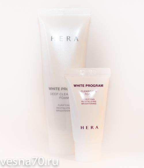 HERA White Program Cleansing Foam 15мл\30мл\50мл