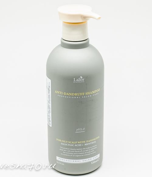 Шампунь против перхоти Lador Anti-Dandruff Shampoo 530мл