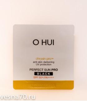 O HUI Sun Science Perfect Sun Block Black EX spf50