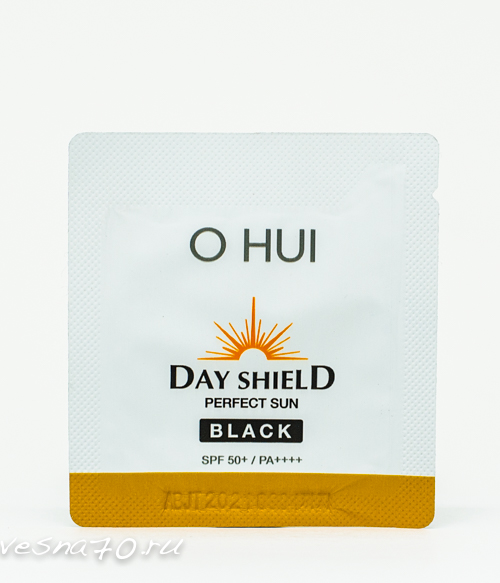 O HUI Day Shield Perfect Sun Block Black EX spf50