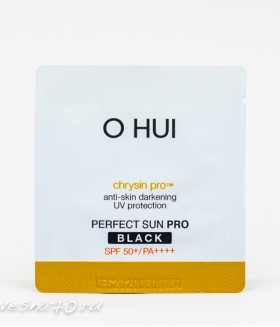 O HUI Sun Science Perfect Sun Block Black EX spf50