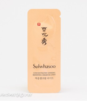 Sulwhasoo Concentrated Ginseng Renewing Cream Light