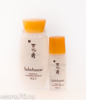 Sulwhasoo Essential Balancing Water 5мл/15мл
