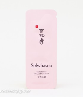 Sulwhasoo Bloomstay Vitalizing Cream 1мл НОВИНКА 2018!