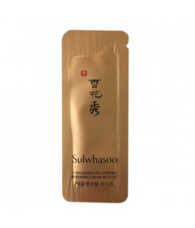 Sulwhasoo Concentrated Ginseng Renewing Cream Light Новинка!