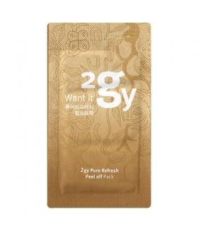 2 GY Pure Refresh Peel-Off Mask очищающая маска-пленка для лица