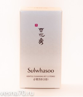 Sulwhasoo Gentle Cleansing Kit: Oil 15мл + Foam 15мл