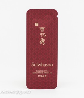 Sulwhasoo Timetreasure Renovating Cream 1мл