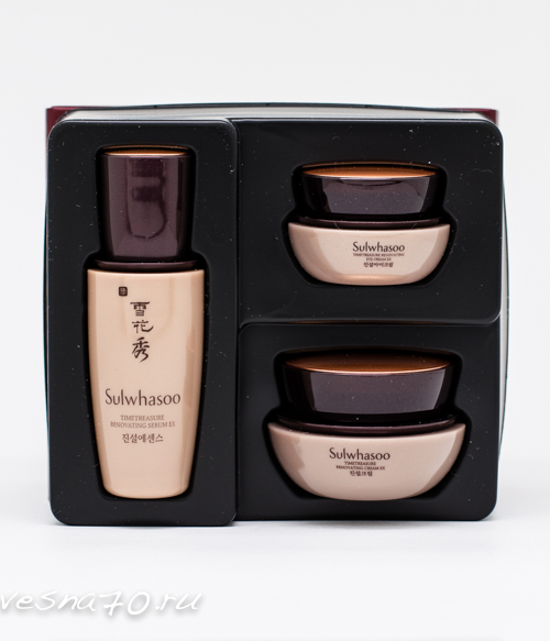 Sulwhasoo Timetreasure Renovating Kit набор из 3 средств