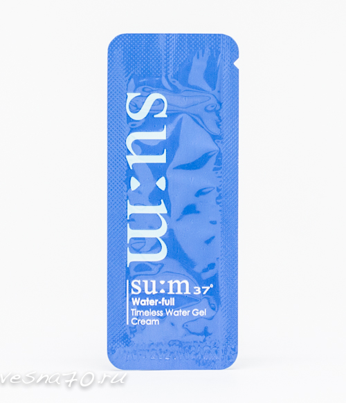 Su:m37 Water-full Timeless Water GEL Cream 1мл