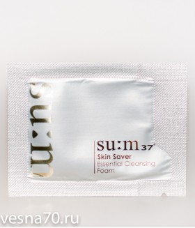 Su:m37 Skin Saver Essential Cleansing Foam 2.5мл