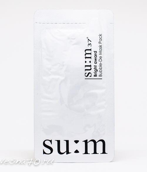 Su:m37 White Award Bubble De-Mask 4мл