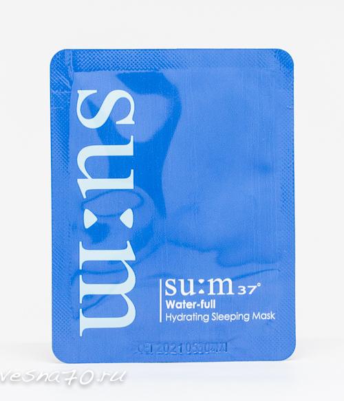 Su:m37 Water-full Hydrating Sleeping Mask 2мл
