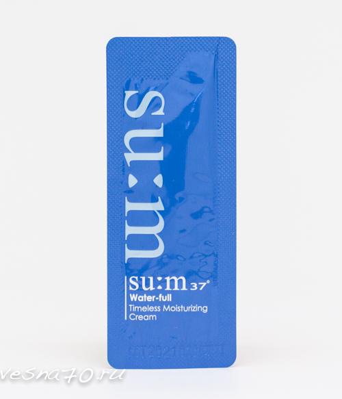 Su:m37 Water-Full Moisturizing Cream 1мл