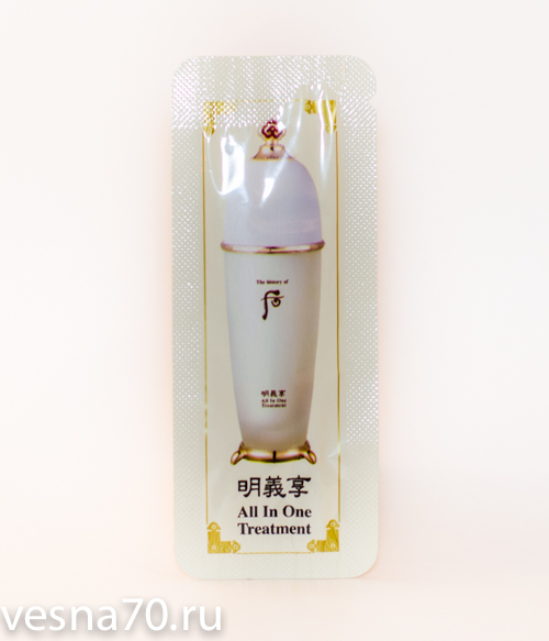 The History of Whoo All-in-One Treatment
