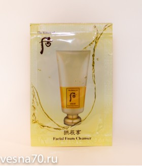 The History of Whoo Foam Cleanser 2мл