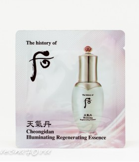 The History of Whoo Illuminating Essence 1мл новинка 2020
