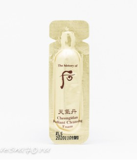 The History of Whoo Cheongidan Radiant Cleansing Foam 1мл