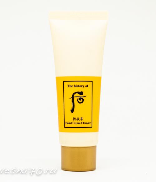 The History of Whoo Facial Cream Cleanser 40мл очищающий крем