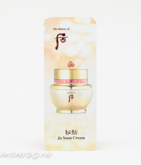 The History of Whoo Ja Yoon Cream 1мл